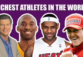 Top 10 Richest Athletes In The World Right Now