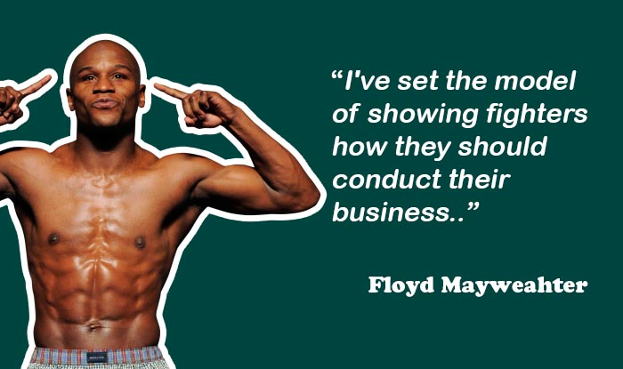 Floyd Mayweahter - Richest Athletes in the world