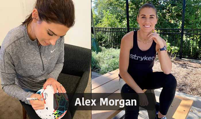 Alex Morgan - most beautiful female footballer