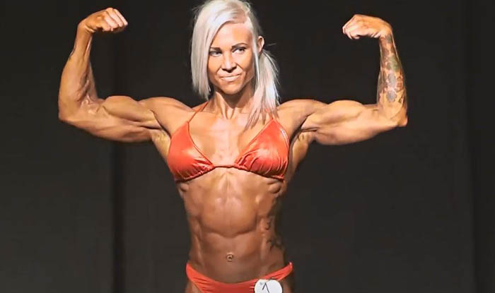Heidi Vuorela - women bodybuilder