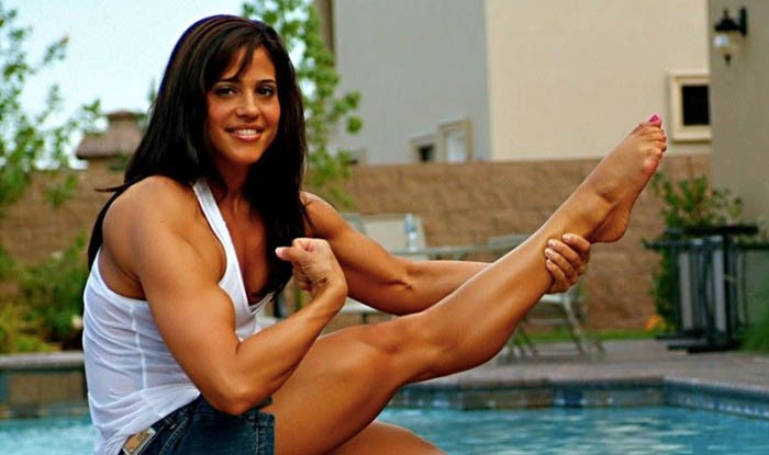 Jennifer Rish - female bodybuilder