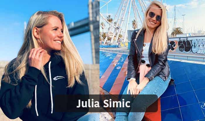 Julia Simic - most beautiful female footballer
