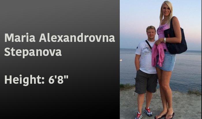 Maria Alexandrovna Stepanova - tallest WNBA players