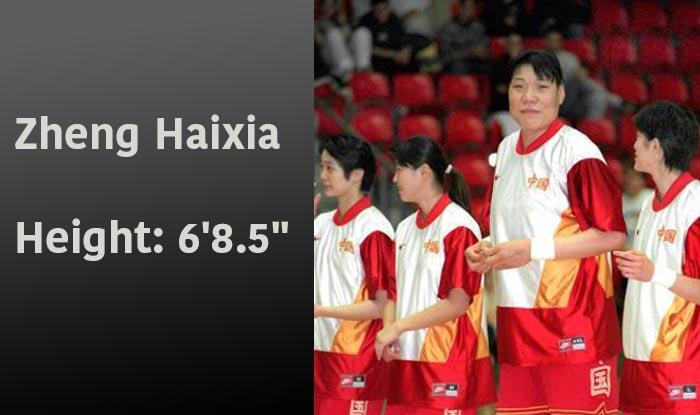 tallest WNBA players