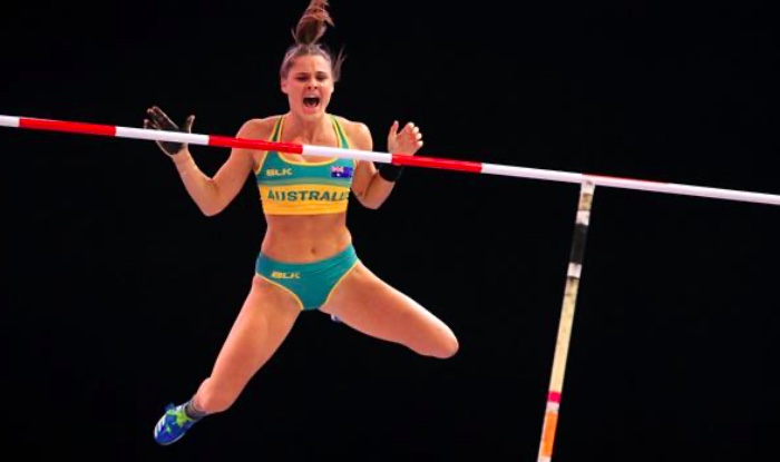 Nina Kennedy - Pole Vault Record