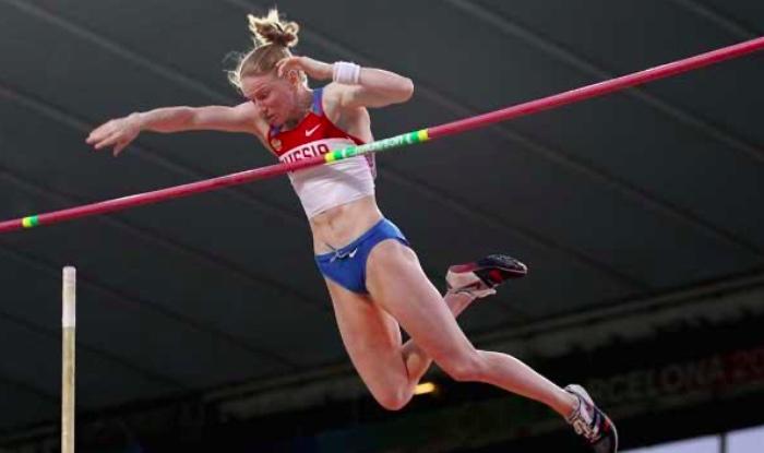 Svetlana Feofanova- Pole Vault Record
