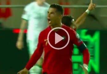 Cristiano Ronaldo Wonderful Header Goal vs Ireland